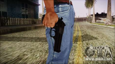 PayDay 2 Bernetti 9 para GTA San Andreas tercera pantalla