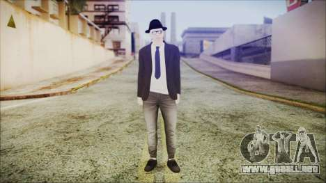 GTA Online Skin 49 para GTA San Andreas segunda pantalla