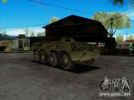 BTR 80 para la visión correcta GTA San Andreas