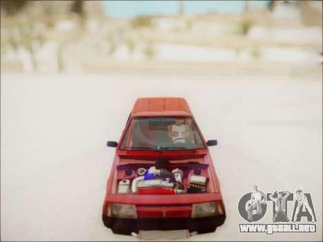 VAZ 2108 Turbo para la visión correcta GTA San Andreas