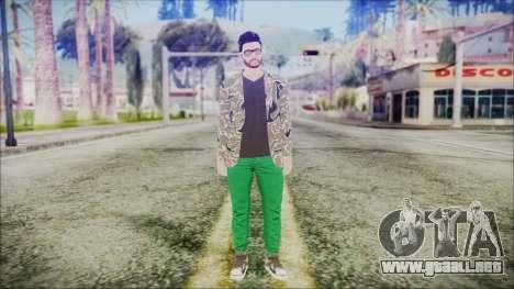 GTA Online Skin 28 para GTA San Andreas segunda pantalla