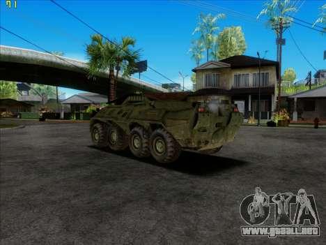 BTR 80 para GTA San Andreas left