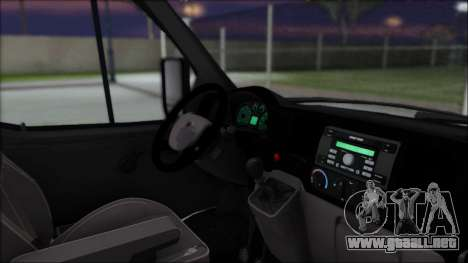 Gas 2217 Luxe para GTA San Andreas vista posterior izquierda