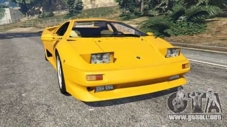 Lamborghini Diablo Viscous Traction 1994 para GTA 5