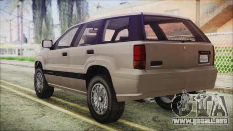 GTA 5 Canis Seminole IVF para GTA San Andreas left