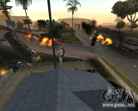 La locura en el estado de San Andreas v1.0 para GTA San Andreas quinta pantalla