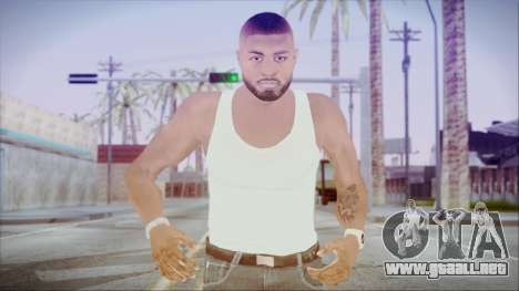 GTA 5 Grove Gang Member 3 para GTA San Andreas