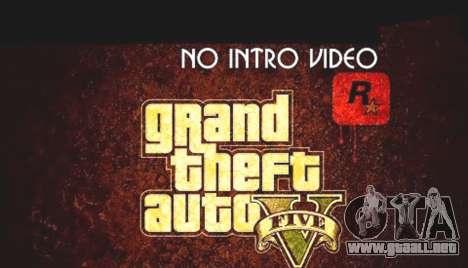No intro video Script Beta para GTA 5