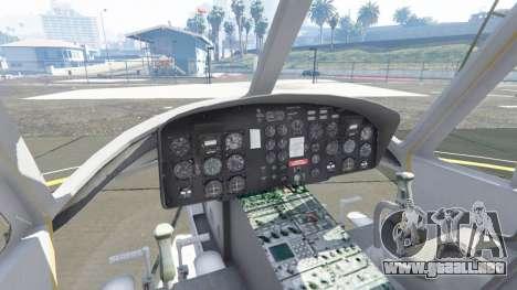 GTA 5 Bell UH-1D Iroquois Huey quinta captura de pantalla