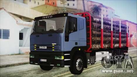Iveco EuroTech Forest para GTA San Andreas