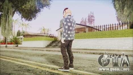 Skin GTA Online Hipster 2 para GTA San Andreas tercera pantalla