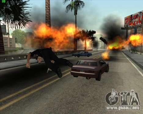 La locura en el estado de San Andreas v1.0 para GTA San Andreas séptima pantalla