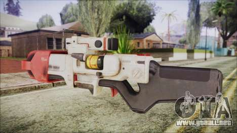 Fallout 4 Focused Institute Rifle para GTA San Andreas segunda pantalla