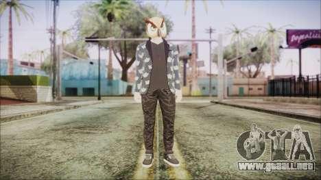 Skin GTA Online Hipster 2 para GTA San Andreas segunda pantalla