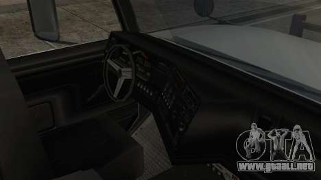 Indonesian Benson Truck Not In Real Life Version para la visión correcta GTA San Andreas
