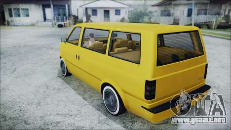 GTA 5 Declasse Moonbeam Bobble Version para GTA San Andreas left