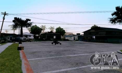 uM ENB para PC débil para GTA San Andreas tercera pantalla