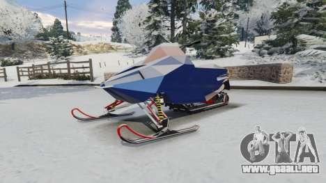 GTA 5 Motos de nieve vista lateral derecha