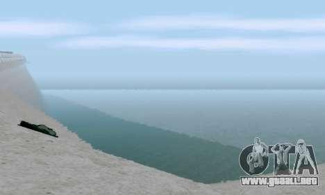 uM ENB para PC débil para GTA San Andreas sexta pantalla
