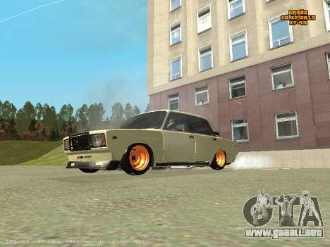 VAZ 2107 Coche para GTA San Andreas left