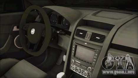 Holden Commodore VE Sportwagon 2012 para la visión correcta GTA San Andreas