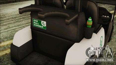 GTA 5 Golf Caddy para la visión correcta GTA San Andreas