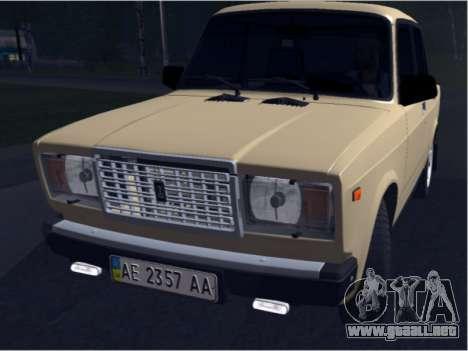 Ваз 21074 Beige Belleza para GTA San Andreas