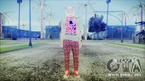 GTA Online Skin 54 para GTA San Andreas segunda pantalla