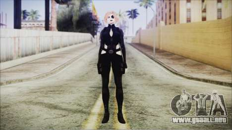 Blonde Domino from Deadpool para GTA San Andreas segunda pantalla