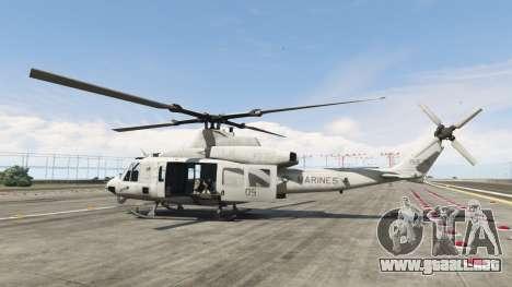 GTA 5 Bell UH-1Y Venom v1.1 segunda captura de pantalla