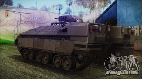 IFV-6C Panther Tracked IFV para GTA San Andreas left