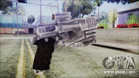Fallout 4 Heavy 10mm Pistol para GTA San Andreas segunda pantalla