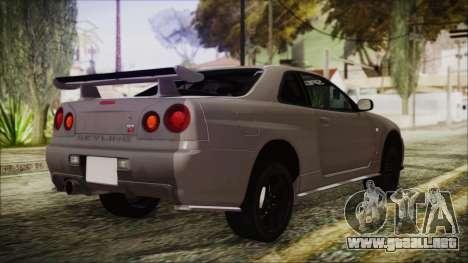 Nissan Skyline Nismo Body Kit para GTA San Andreas left