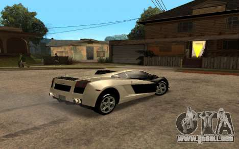 Lamborghini Gallardo Tunable v2 para GTA San Andreas left