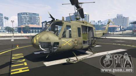 GTA 5 Bell UH-1D Iroquois Huey