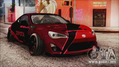 Toyota GT86 Speedhunters para GTA San Andreas