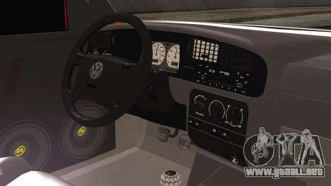 Volkswagen Golf 2 Ghetto Cult para la visión correcta GTA San Andreas