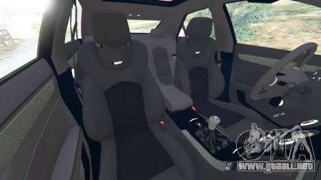 GTA 5 Cadillac CTS-V 2009 vista lateral derecha