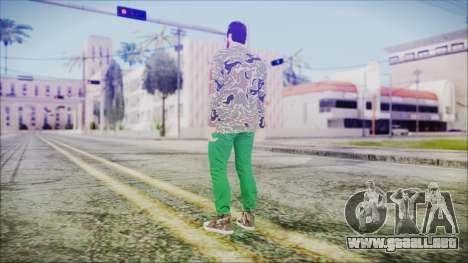 GTA Online Skin 28 para GTA San Andreas tercera pantalla