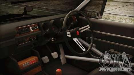 Nissan Skyline GT-R Hakosuka para la visión correcta GTA San Andreas