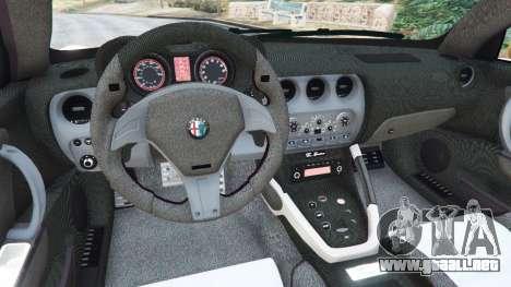 GTA 5 Alfa Romeo 8C Spider 2012 vista lateral trasera derecha