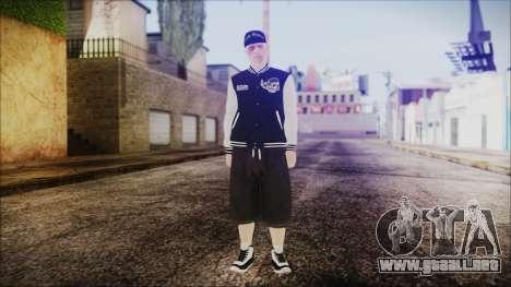 GTA Online Skin 50 para GTA San Andreas segunda pantalla