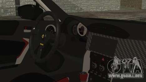 Toyota GT86 Rocket Bunny Tunable HQLM para la visión correcta GTA San Andreas