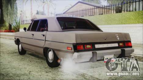 Dodge Dart 1975 para GTA San Andreas left
