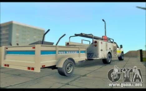 GTA V Utilidad de Remolque para GTA San Andreas vista posterior izquierda
