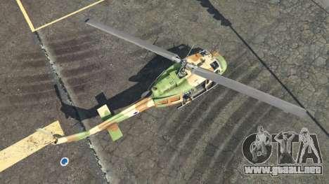 GTA 5 Bell UH-1D Israeli Air Force cuarto captura de pantalla