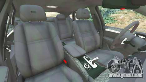GTA 5 BMW X6 M (E71) v1.5 vista lateral derecha