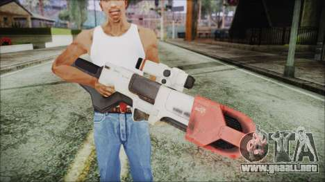 Fallout 4 Focused Institute Rifle para GTA San Andreas tercera pantalla