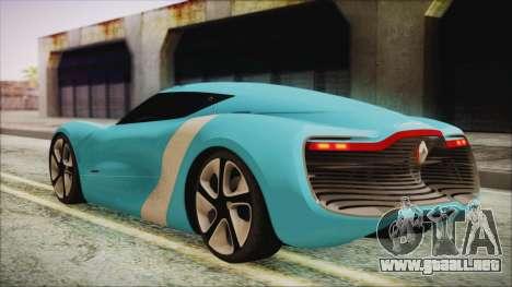 Renault Dezir Concept 2010 v1.0 para GTA San Andreas left