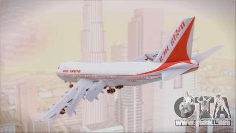 Boeing 747-237Bs Air India Vikramaditya para GTA San Andreas left